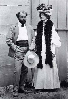 Adèle Bloch Bauer et son mari